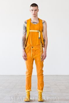 Boris Bidjan Saberi Menswear Spring Summer 2014 Paris - NOWFASHION