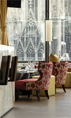 DO & CO Hotel Vienna | Onyx Bar - check out that view!!