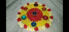 Flower Rangoli, Rangoli Designs, Cake, Flowers, Desserts, Pie Cake, Tailgate Desserts, Pastel, Floral