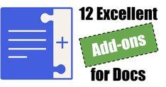 Control Alt Achieve: 12 Excellent Add-ons for Google Docs