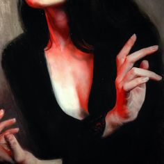 Kai Fine Art is an art website, shows painting and illustration works all over the world. Red Aesthetic, Character Aesthetic, Devil Aesthetic, Hawke Dragon Age, Blood Mage, Elektra Natchios, Yennefer Of Vengerberg, Morticia Addams, Leila