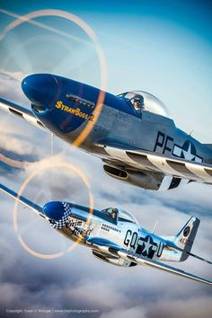 North American Mustang fighter-bomber used during World War II, the Korean War and other conflicts. Ww2 Aircraft, Fighter Aircraft, Fighter Jets, Military Jets, Military Aircraft, Mustang P51, Photo Avion, Airplane Fighter, Old Planes
