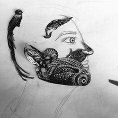 Manipulation, Skull, Tattoos, Tatuajes, Tattoo, Tattos, Skulls, Sugar Skull, Tattoo Designs