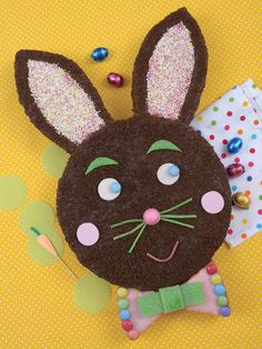 Gâteau lapin Cupcakes, Gravity Cake, Number Cakes, Happy Foods, Beignets, Fun Cooking, Easter Recipes, Easter Crafts, Happy Easter