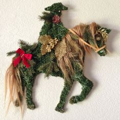 Paso Fino Pete Horse wreath the perfect Christmas by horsnaround