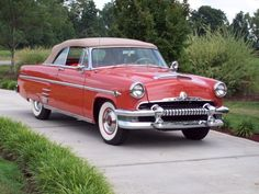 1954 Mercury Monterey Convertible.Re-Pin brought to you by #CarInsuranceagents at #HouseofInsurance in #EugeneOregon