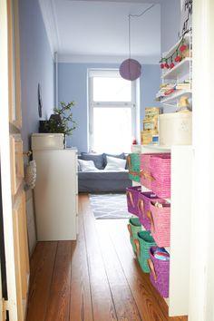 Ein Einblick in das Kinderzimmer vom Minisheriff.