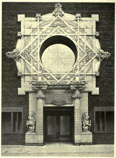 The Merchants National Bank, Grinnell, Iowa | Louis Sullivan, architect