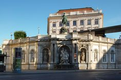 Albertina, Albertinaplatz Romance, Mansions, Contemporary, House Styles, Home Decor, Romance Film, Romances, Decoration Home, Manor Houses