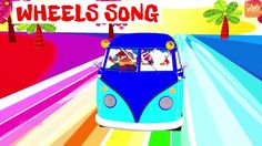 Wheels on the bus song - There are four wheels to a bus - kids education...