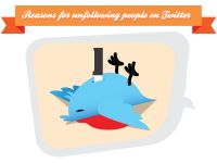 Infographic: Why People Unfollow You On Twitter
