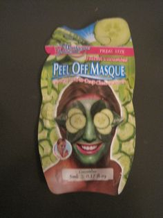 Montagne Jeunesse face mask in Cucumber from Influenster's Holiday Vox Box