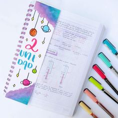 Bullet Journal School, Study Notes, Alphabet, Notebook, Scrapbook, Lettering, Words, Tumblr, Creative Ideas