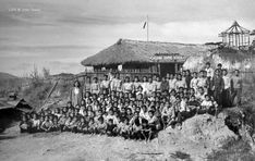 Cagui-ing Elementary School, students and faculty, Philippines, 1949 Time Inc, Class Pictures, Baguio, Elementary Schools, Philippines, Students, Pinoy, Image, Street