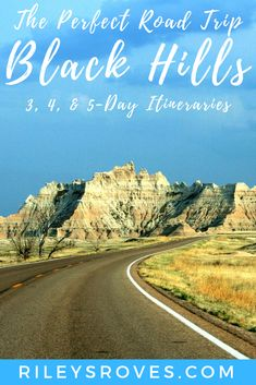 By combining these popular South Dakota attractions and parks, you'll create the perfect Black Hills road trip itinerary. South Dakota Vacation, South Dakota Travel, North Dakota, Taken Film, Badlands National Park, National Parks, Custer State Park, Cross Country Trip, Perfect Road Trip
