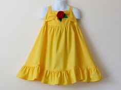 Girl's Princess Belle Beauty and the Beast Inspired by Donhvy