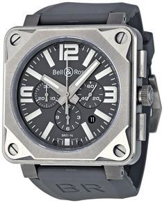 Bell and Ross Aviation Pro Titanium Chronograph Mens Watch BR0194-PRO-TI $5,499.99