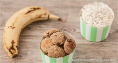 Backen macht glücklich | Gesunde Haferflocken-Kekse ohne Zucker, Butter und Ei | http://www.backenmachtgluecklich.de
