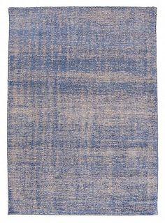 Bamboo silk-teppe - Faliraki (blå)