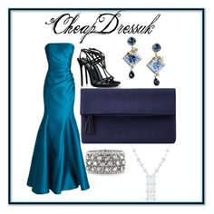 """""""CheapDressuk"""" by merima-gutic ❤ liked on Polyvore featuring Badgley Mischka, Dsquared2, John Lewis, Mark Broumand and Dolce&Gabbana"""