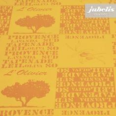 jubelis® Tischdecke Meterware Wachstuch Provence orange bringt französisches Flair