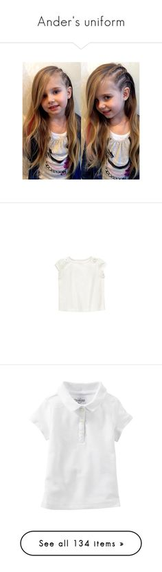 """""""Ander's uniform"""" by the-hope-family ❤ liked on Polyvore featuring t42, kids, l-childrenswear, tops, shirts, shirt top, short-sleeve shirt, stretchy shirt, stretch top and short sleeve tops"""