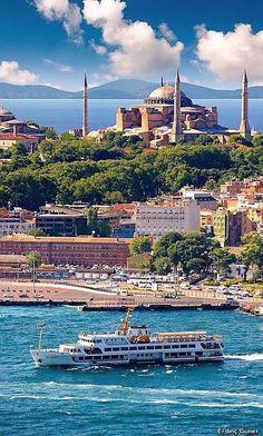 Стамбул город на двух континентах. Обзорная Экскурсия по Стамбулу. Исмаил Мюфтюоглу гид историк. www.russkiygidvstambule.com