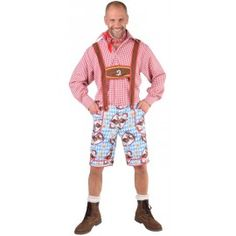 Déguisement pantalon tyrolien Alm Hirsh homme luxe