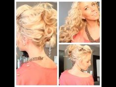 Messy Summa Updo: Perfect for curly, wavy, or second day hair. Music By: Charity Vance Moving Too Fast http://www.charityvance.net http://www.YouTube.com/charityvance.net Follow me for the latest hair trends and tips: TWITTER: http://www.twitter.com/tkristabradford WEBSITE: http://www.kristabradfordsalon.com/ FACEBOOK: https://www.facebook.c...