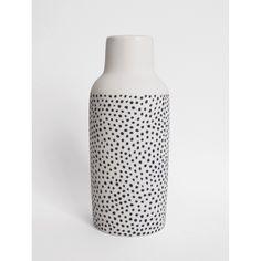 Hand painted porcelain vase by The Granite