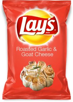 Roasted Garlic & Goat Cheese Lays Chips