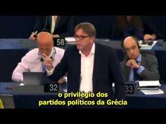Alexis Tsipras recebe um sermão de um liberal