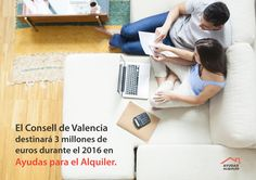 El Consell de #Valencia  destinará 3 millones de euros a #ayudas para el #alquiler durante el 2016.  #ayudassociales   #ayudasalquiler   #subvenciones   #vivienda    http://www.ayudasalquiler.es