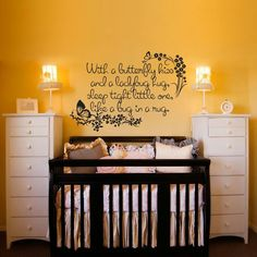Adorable nursery saying!