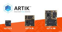 Samsung is debuting three new IoT modules: Artik 1, a tiny 12mm device with Bluetooth and a nine-axis movement sensor; Artik 5, which runs a faster 1 gigahertz dual-core processor and on-board storage; and Artik 10, which is powered by an octa-core processor, 2GB of RAM and 16GB of storage. The latter also includes Wi-Fi and Zigbee connectivity, which means it should play nicely with plenty of existing IoT equipment.    http://www.engadget.com/2015/05/12/samsung-artik-iot/?ncid=rss_truncated