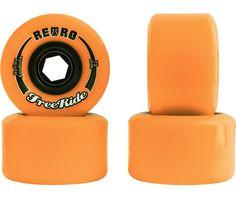 Rodas Abec 11 Retro Freeride Reflex 72mm 86a - R$ 190,00 no MercadoLivre