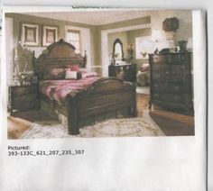 Lexington victorian sampler king mansion bed i have the - Lexington victorian bedroom furniture ...
