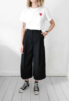 Image result for culottes converse