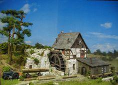 Sägemühle, sawmill, timber mill, water mill http://www.modellbauluft.de/Aktuelles/20-Jahre-Modellbau-Luft/Saegemuehle_01.jpg