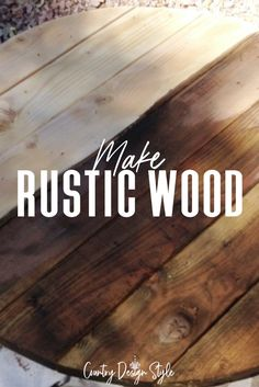 Rustic style and decor embraces the imperfections and makes it perfect for easy home decor which is what Country Design Style does. You will enjoy seeing this collection of awesome ideas. #rusticdecor #DIYhomedecor #rusticstyle