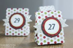 Goodie Stampin Up Adventskalender One Sheet Box
