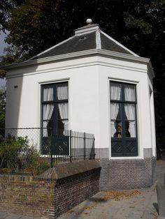 Theekoepel op landgoed Akerendam te Beverwijk
