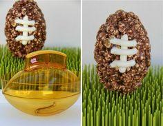 Popcorn Ball Footballs