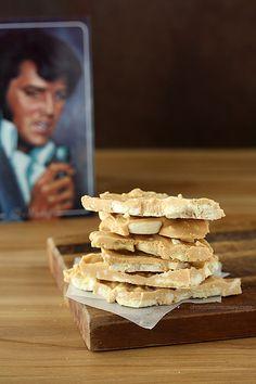 Peanut Butter Banana Elvis Bark @FoodBlogs