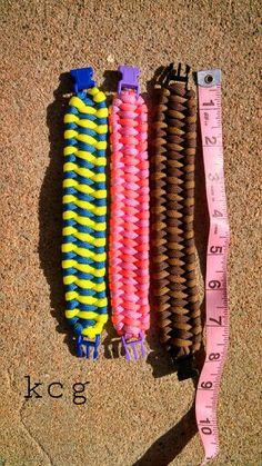 Paracord Survival Bracelets.