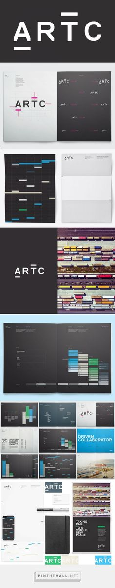 New Logo and Identity for ARTC by Moon #branding #identity