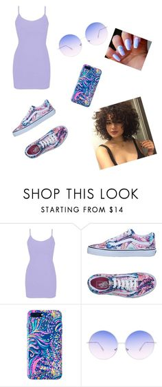 """""""Untitled #361"""" by taeedoeeee ❤ liked on Polyvore featuring BKE, Vans, Lilly Pulitzer and Skinnydip"""