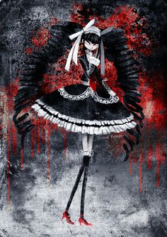 Celestia Ludenburg by CottonValent on DeviantArt Arte Horror, Horror Art, Creepy Cat, Danganronpa Trigger Happy Havoc, Danganronpa Characters, Danganronpa 1, Beautiful Dark Art, Dark Drawings, Fanarts Anime