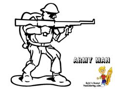 American Soldier Picture ColoringYou Can Print Out This Army