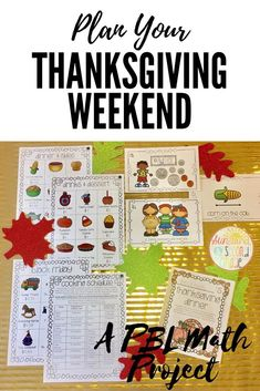 A PBL Thanksgiving Math Project - students shop for thanksgiving dinner, make a schedule, Black Friday shop and more! A great math project for Thanksgiving! Thanksgiving Classroom Activities, Thanksgiving Math, Thanksgiving Projects, Classroom Ideas, Teaching Money, Teaching Time, Enrichment Activities, Kindergarten Activities, Teaching Measurement